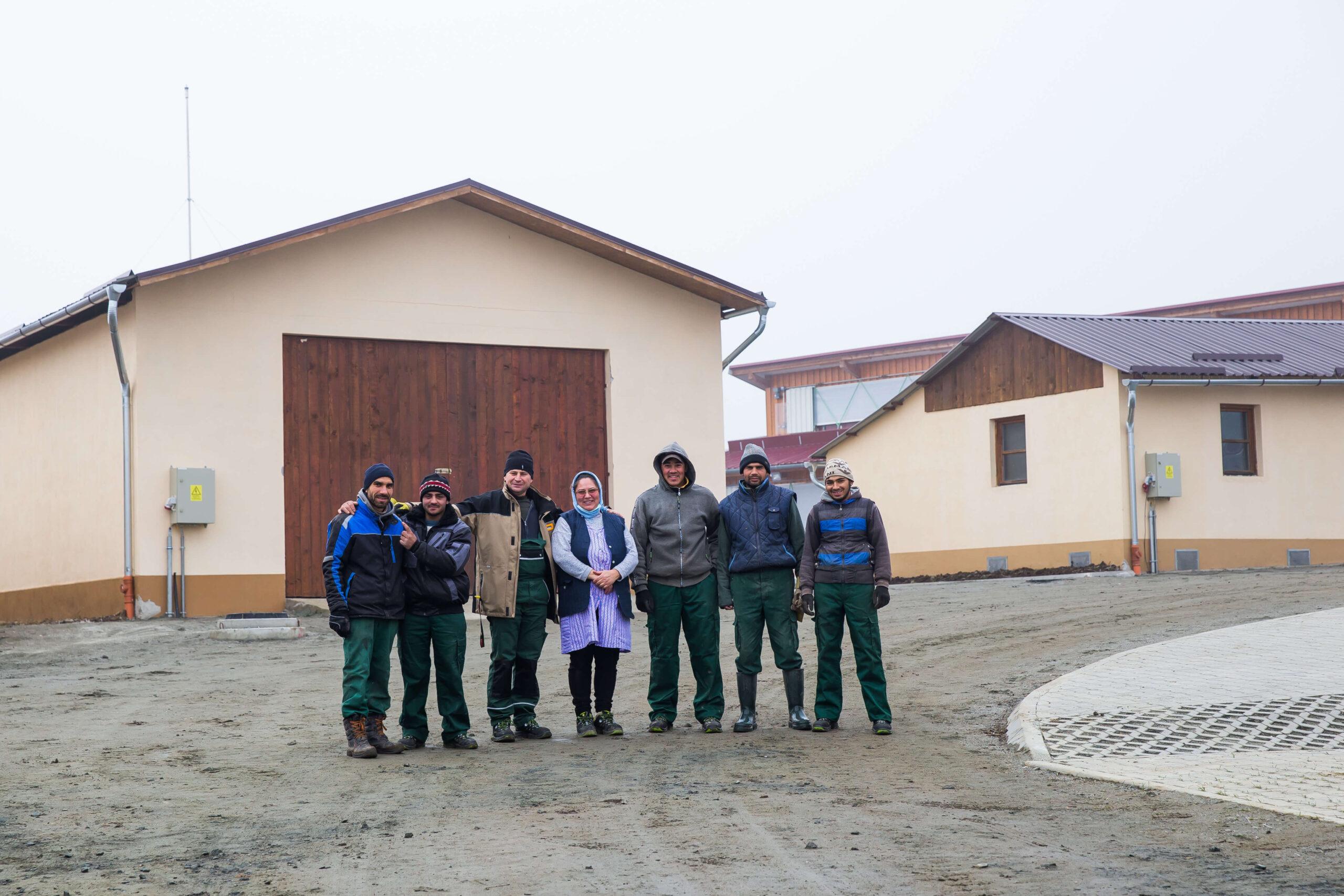 Start Schülerwohnheim in Sibiu